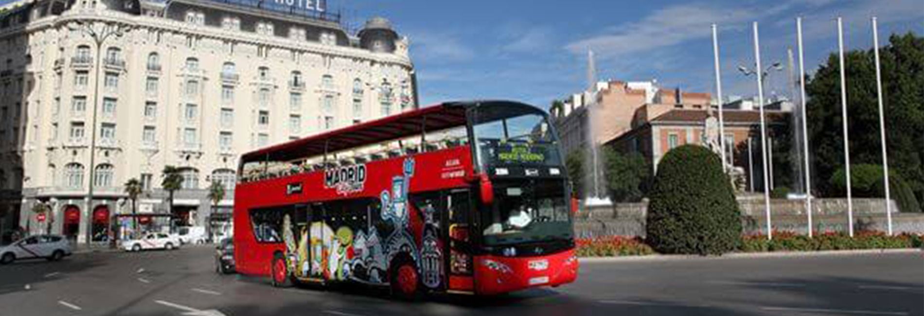 Hop on hop off bus Madrid