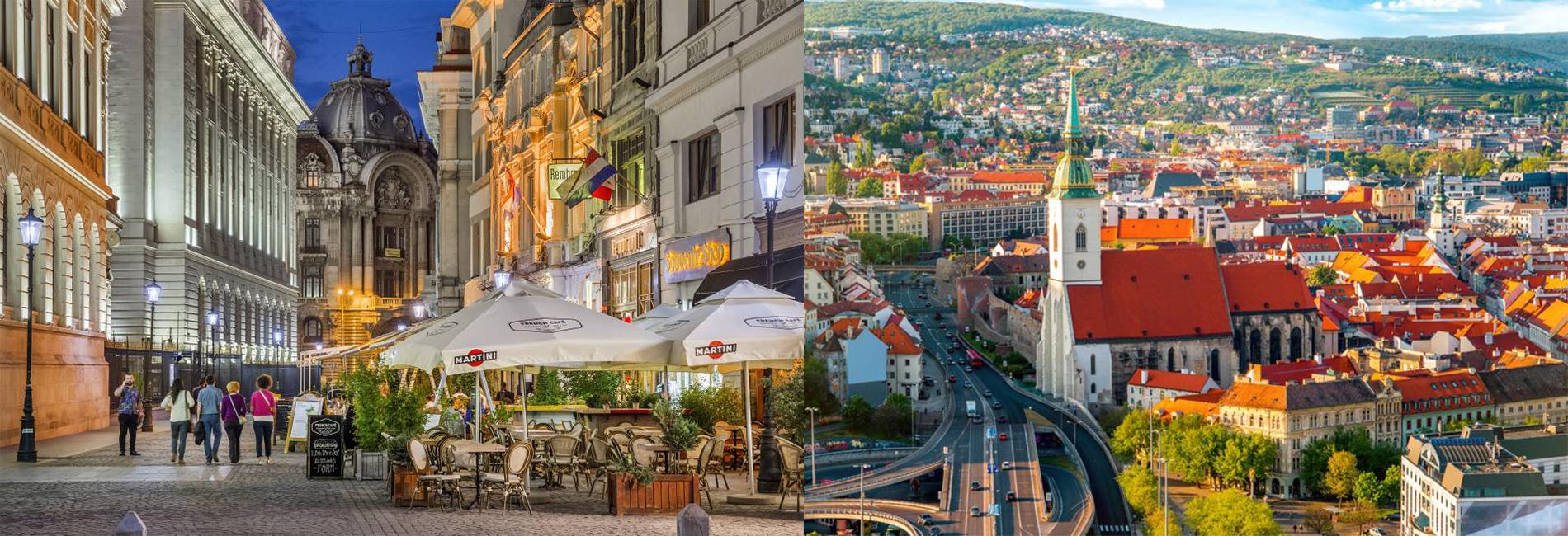 Europa en 4 ciudades poco exploradas